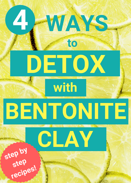 Looking to detox? Bentonite clay offers a safe, natural way to cleanse your body of harmful chemicals and toxins. Click here to learn 4 easy ways to use it for full body detox!