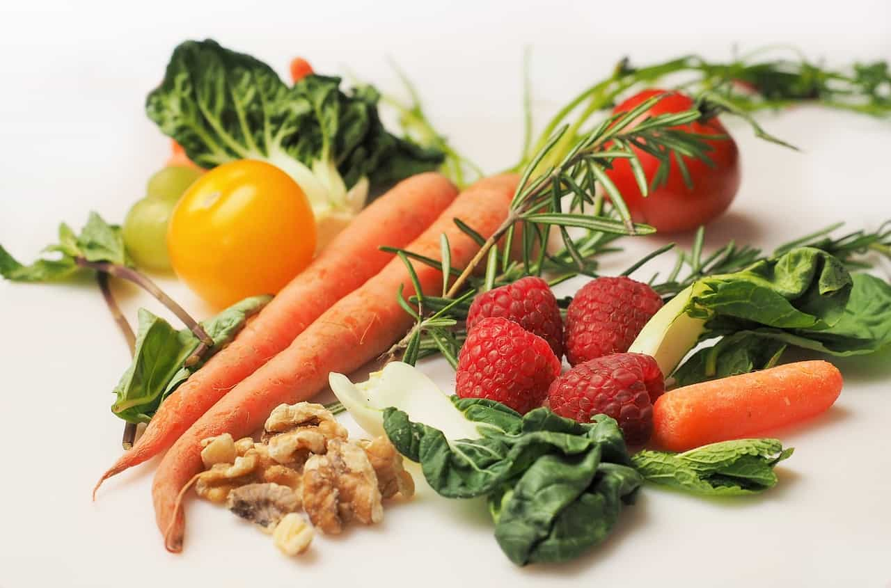 a mixture of detoxification vegetables