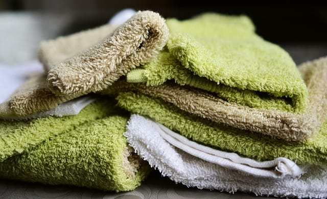 green wash cloths