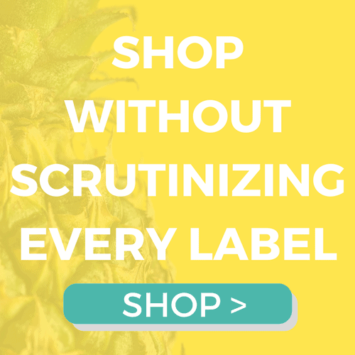 shop without scrutinizing every label
