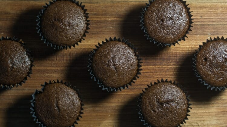 Mini muffins - a beloved snack for 1 year olds