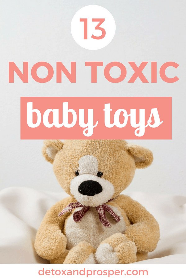 Want safe non toxic toys for your baby? Of course you do! But it's so hard to find toxin free toys that are still entertaining and hardy enough to stand up to little hands. Check out this list of 13 non toxic and plastic free toys for your baby or toddler!