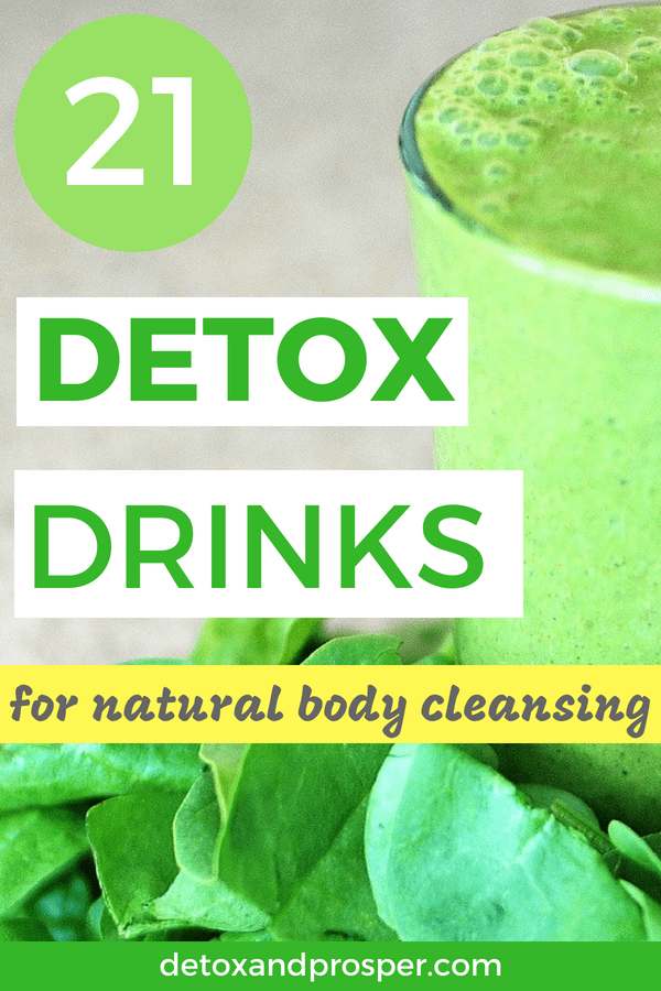 21 detox drinks for body cleansing
