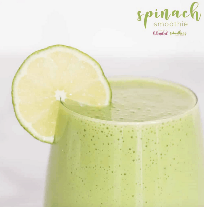 easy spinach detox smoothie