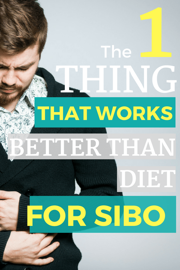 Do you have SIBO? It is an acronym for Small Intestine Bacterial Overgrowth. It happens when you have bacteria from the colon migrate into the small intestine. It results in digestive distress symptoms like bloating, gas, constipation, diarrhea and more. After suffering with SIBO for over a year, I've finally found a SIBO cure, and it's SO simple. Click to see for yourself!