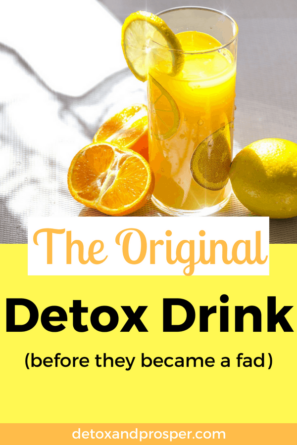 Use this detox drink to cleanse your body, remove toxins and boost your immune system naturally! A vitamin C flush offers a natural way to filter toxins and bust belly bloat naturally.